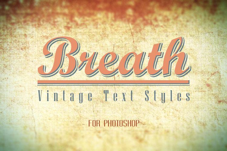 PlanusWP » Breath – Vintage Text Styles